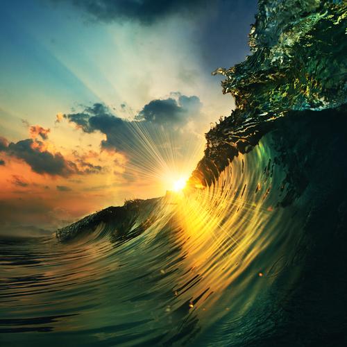夢占い 海 波