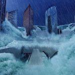洪水で溺れる夢占いについて