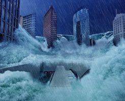 夢占い 溺れる 洪水