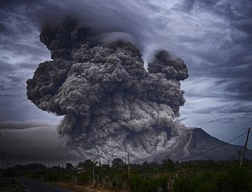 夢占い 噴火 火事 逃げる