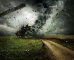 夢占い 竜巻 雷 砂嵐
