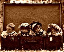 夢占い 人形 たくさん