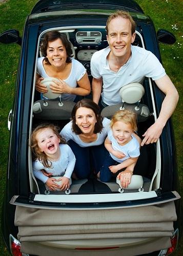 夢占い 家族 車
