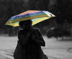 夢占い 大雨 傘 洗濯物