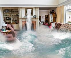 夢占い 洪水 流される きれいな水 (2)