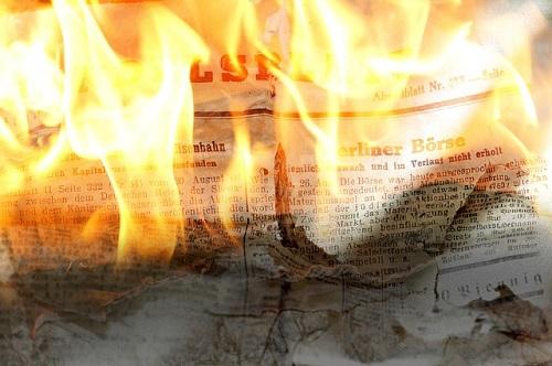 夢占い ゴミ 紙 燃やす