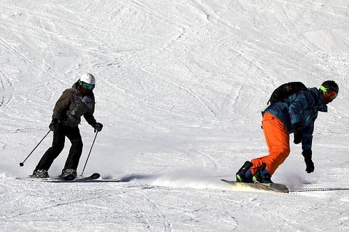 夢占い スキー 歩く 氷