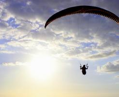 夢占い パラグライダー 空を飛ぶ 低空飛行