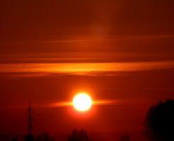 夢占い 太陽 赤い まぶしい